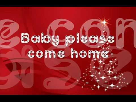 christmas baby please come to home lyrics